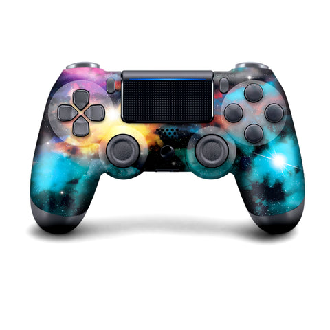 WIRELESS PS4 CUSTOM REGULAR / MODDED CONTROLLER - GALAXY