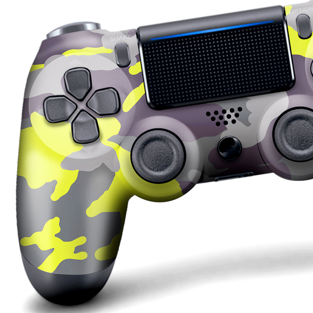 Authentic, Smooth & Easy To Use Wireless PS4 Custom Regular / Modded Controller With Exclusive Design - Optic Camo