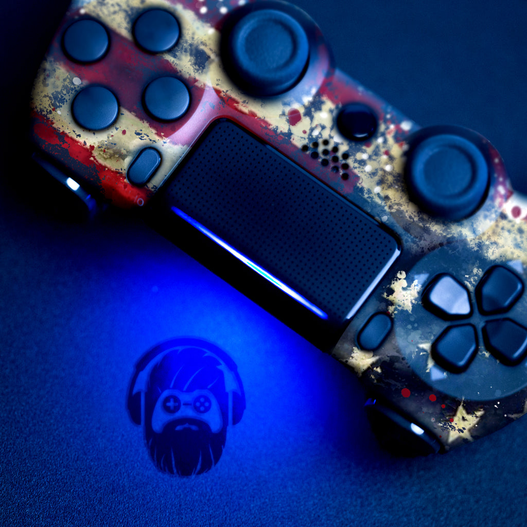 Tattered Flag Ps4 Custom Controller Exclusive