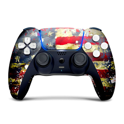 Tatterred Flag Custom Wireless PS5 Controller