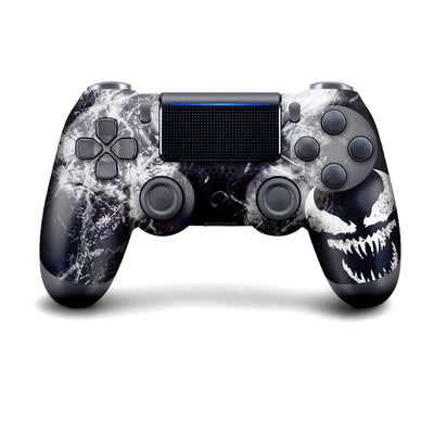 Authentic, Smooth & Easy To Use Wireless PS4 Custom Regular / Modded Controller With Exclusive Design - Venom