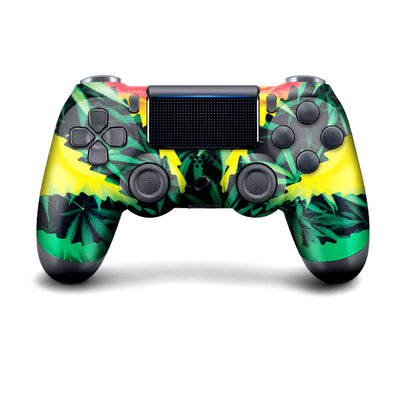 Green Grass Weed Ps4 Controller