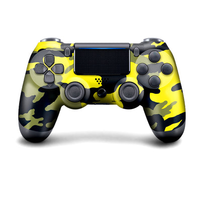 Wireless PS4 Custom Regular / Modded Controller - Yellow Camo