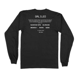 T-shirt Europe's Global Navigation Satellite - Black