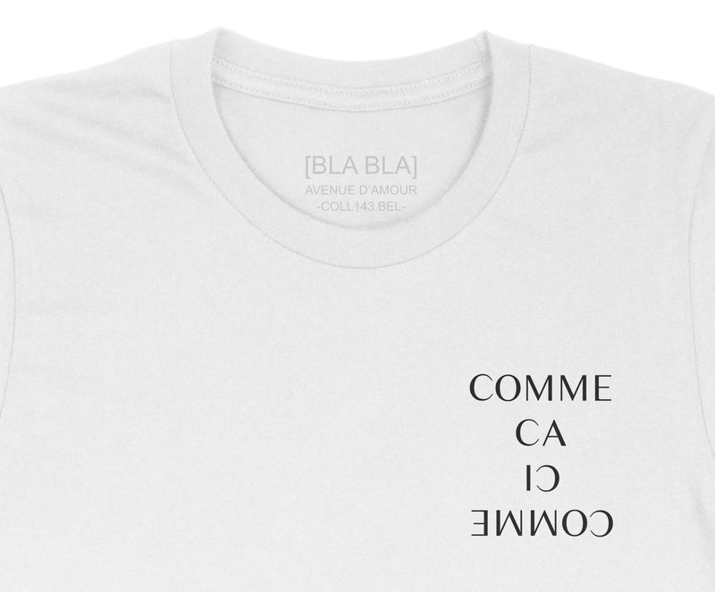 T-shirt Comme Ca Comme Ci - White