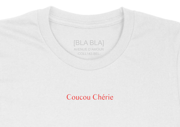 T-shirt Coucou Chérie - White
