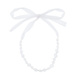 beads&ribbon Necklace