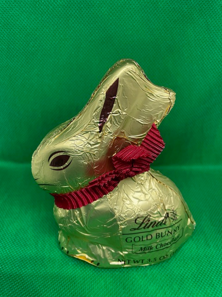 Lindt Milk Chocolate Hallow Bunny