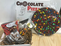 Chocolate Pizza Basket
