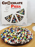 Candy Avalanche Chocolate Pizza