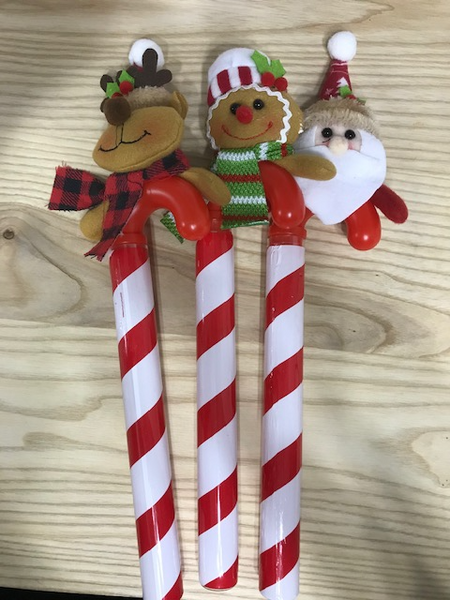 Candy Cane with Toppers