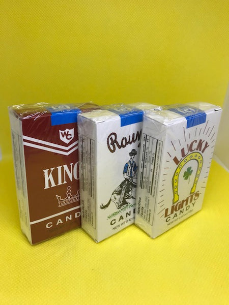 Candy cigarettes per pack