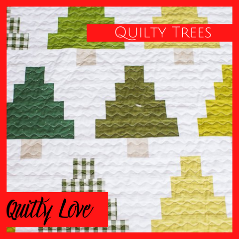 Quilty Trees Quilty Love