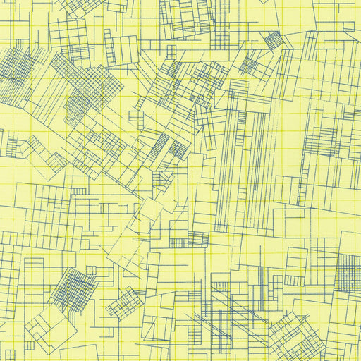 Collection Carolyn Friedlander Blueprint Yellow