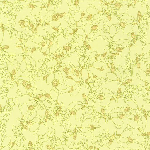Collection Carolyn Friedlander Branches Bright with Metallic