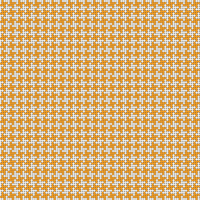 Grove Houndstooth Orange