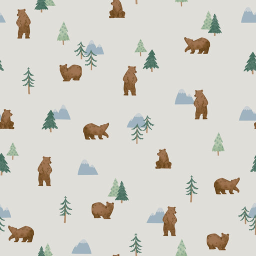 Camp Woodland Grizzly Bears Offwhite