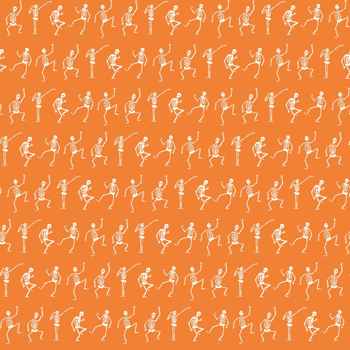 Hocus Pocus Skeletons Orange