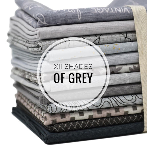 XII Shades of Grey - Fat Quarter Stash Builder