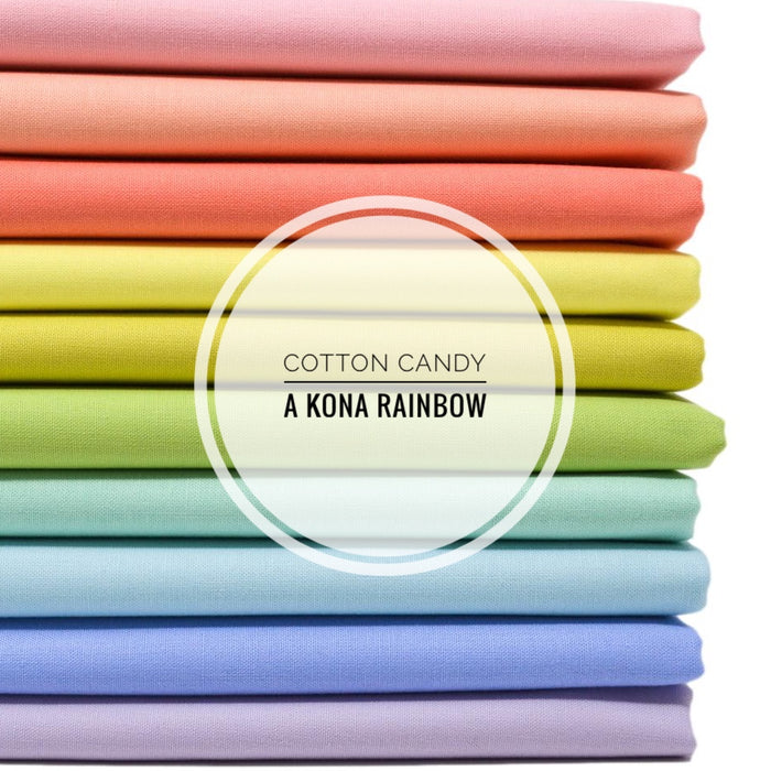 Cotton Candy, A KONA Rainbow - Half Yards