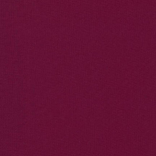 KONA Cotton Bordeaux Solid 1/4 YARD ONLY