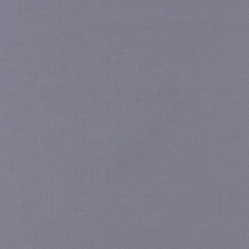 KONA Cotton Medium Grey Solid 7/8 YARD ONLY