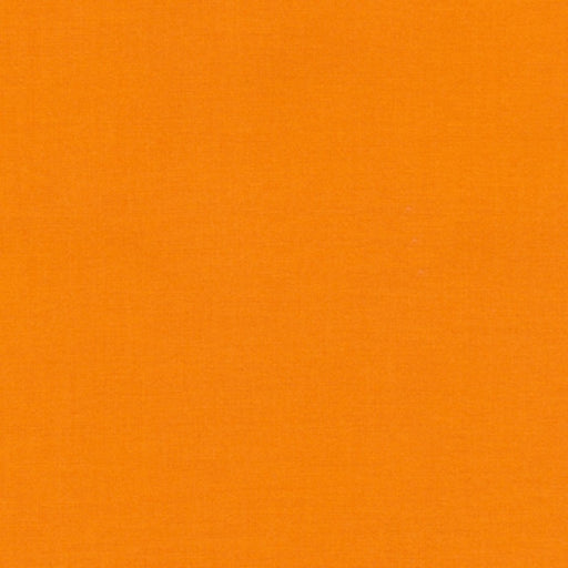 Sold by the Yard and Cut Continuous Solid Fabric Kona Cotton Nectarine k001-496