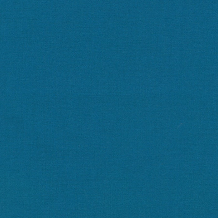 KONA Cotton Teal Blue Solid K001-1373