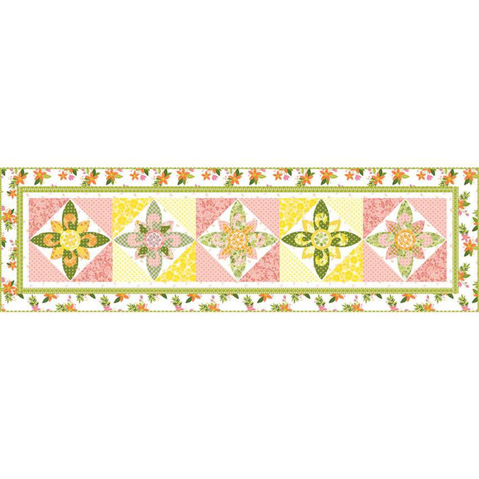 Jillily Studio Pink Lemonade Table Runner Pattern
