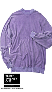 Lavender • Oversized Sweater