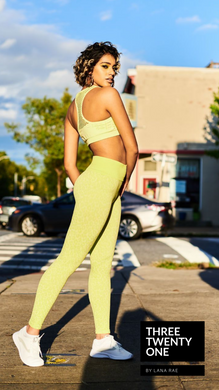 Neon yellow lime set (Sold in