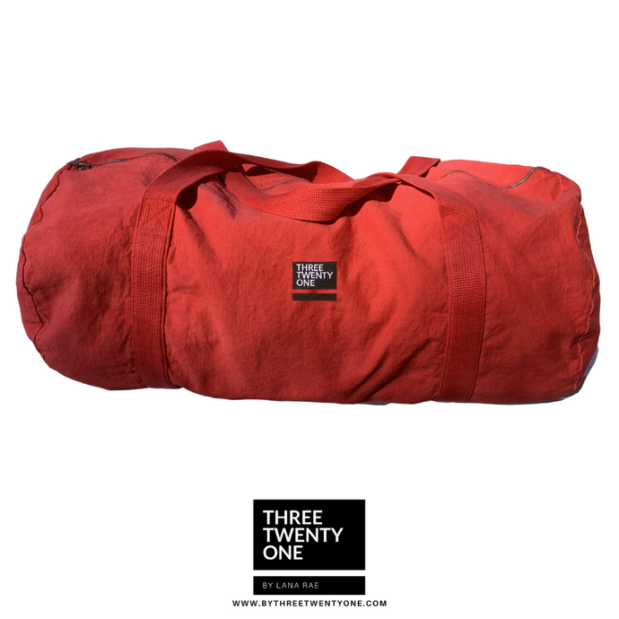 ONE LEFT: The Weekender • Unisex Duffel Bag (Scarlet)