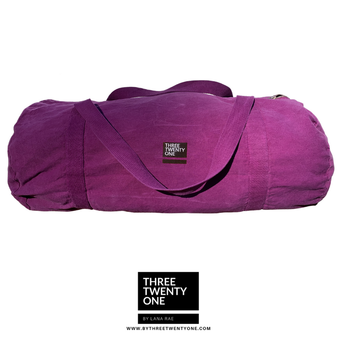 The Weekender • Unisex Duffel Bag (Orchid)