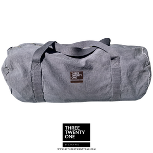 TWO LEFT: The Weekender • Unisex Duffel Bag (Stone)