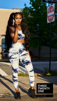 ONLY 1 LEFT: Tie Dye Dreams (Pacific Blue) • Set