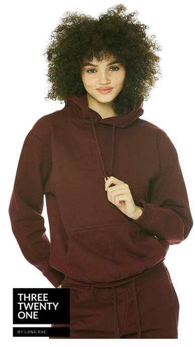1 LEFT SIZE M: Maroon • Unisex Sweat Set