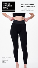 Cargar imagen en el visor de la galería, Shop seamless stretchy soft black high-waisted leggings