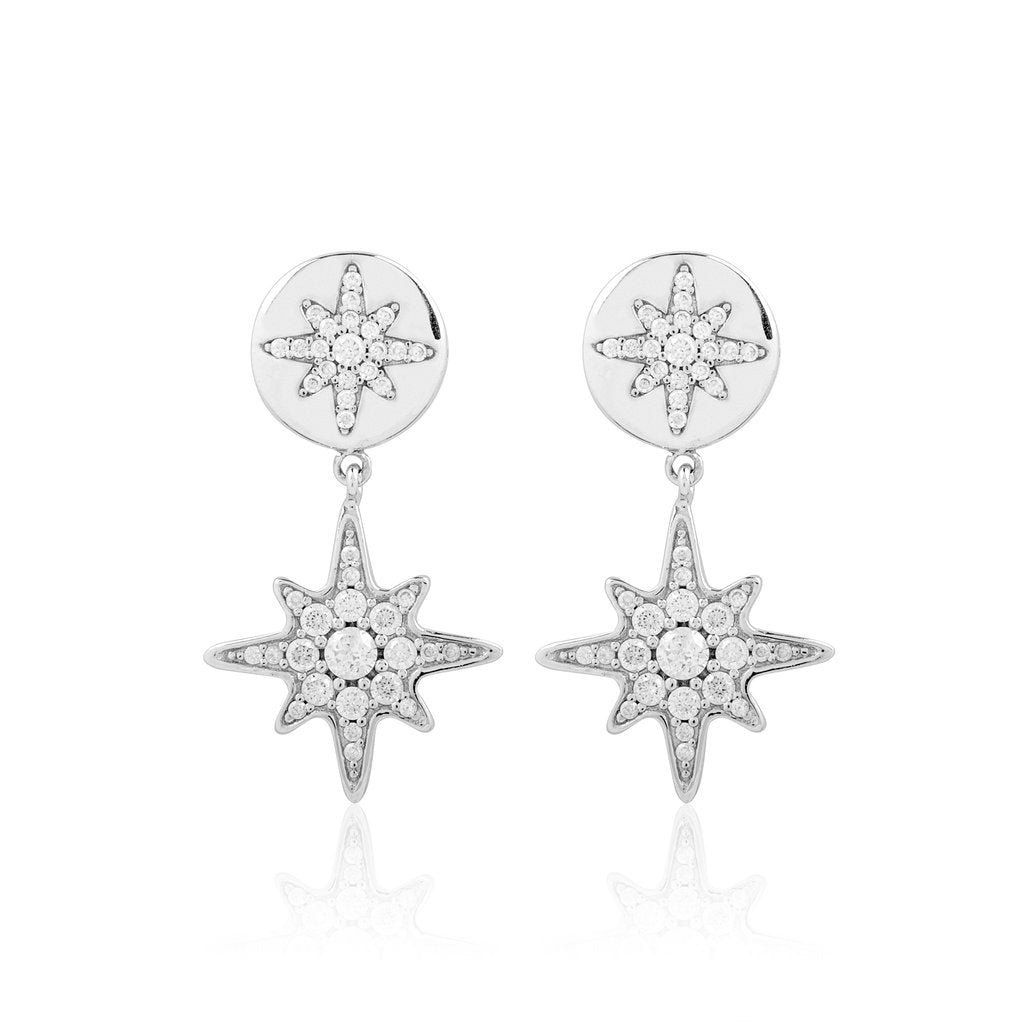 Boh Runga Stellar  Rose Earrings