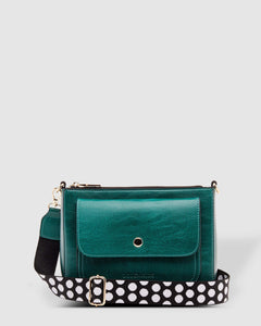 Victoria Cross Body Bag Lounhide Green