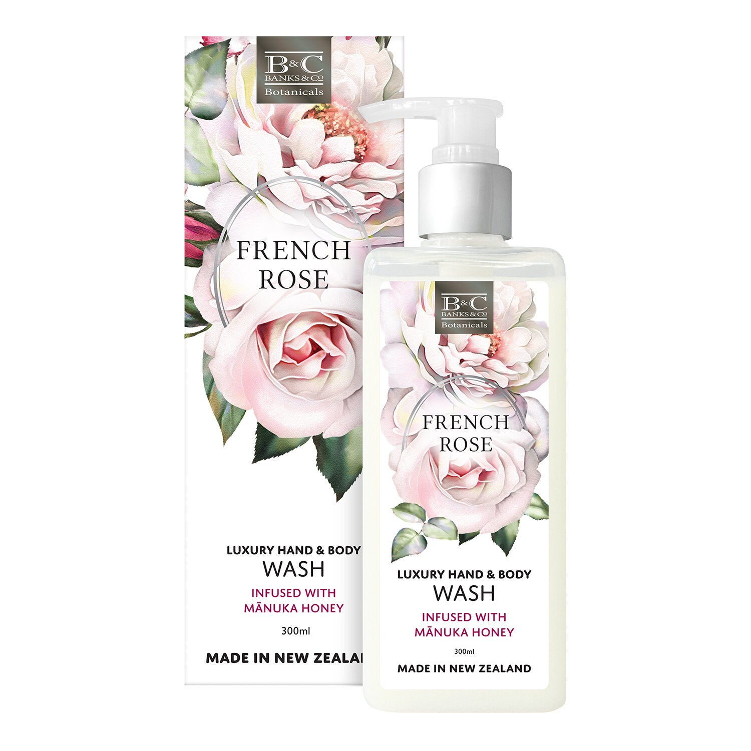 French Rose Luxury Wash 300 ml