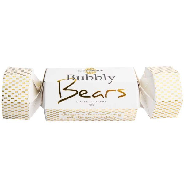 White Bubbly  Cracker Bears
