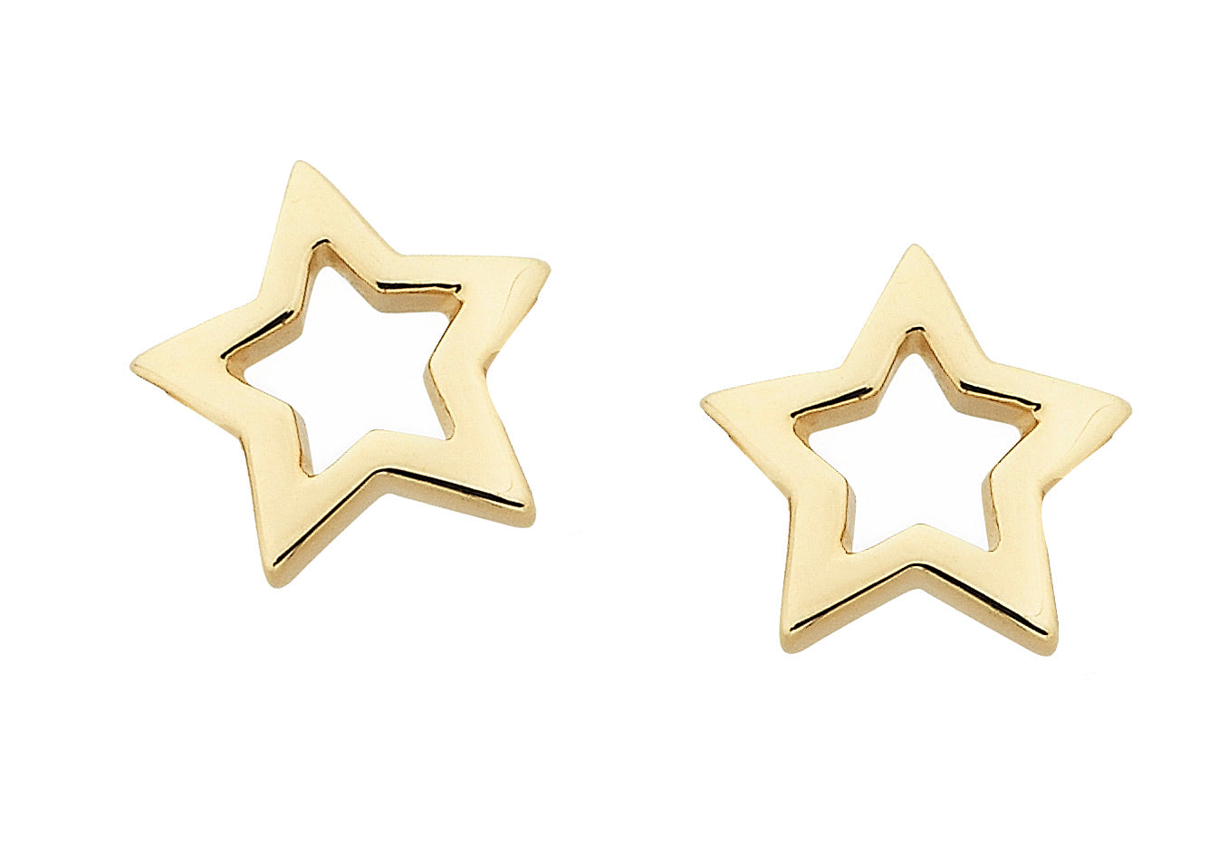 Karen Walker mini Star Studs GOLD