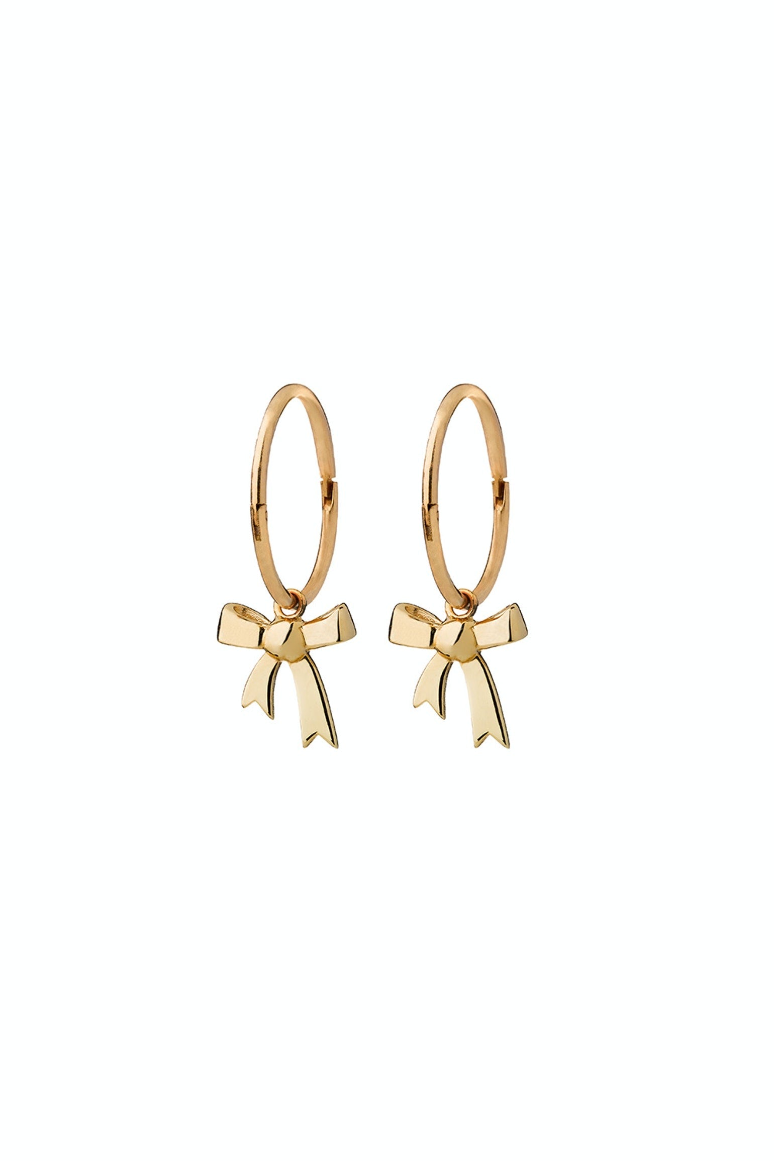Bow Sleeper 9 c gold Karen Walker