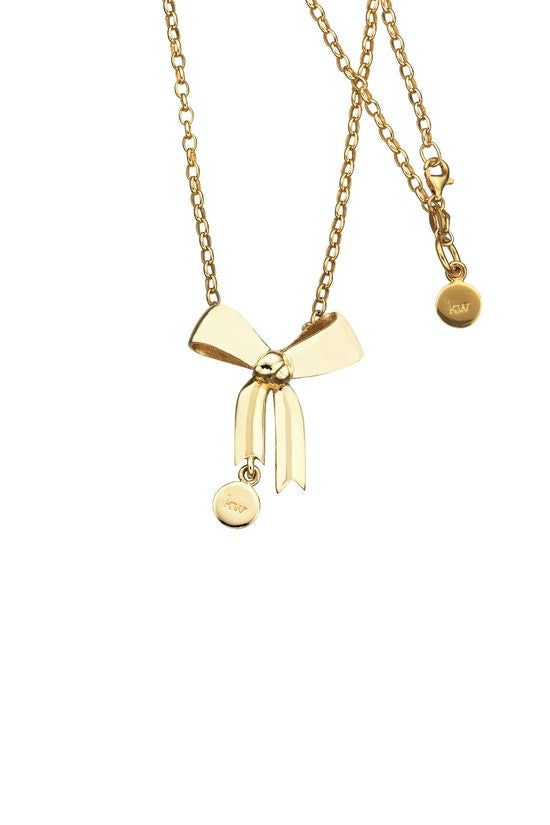 Karen Walker Bow large GOLD