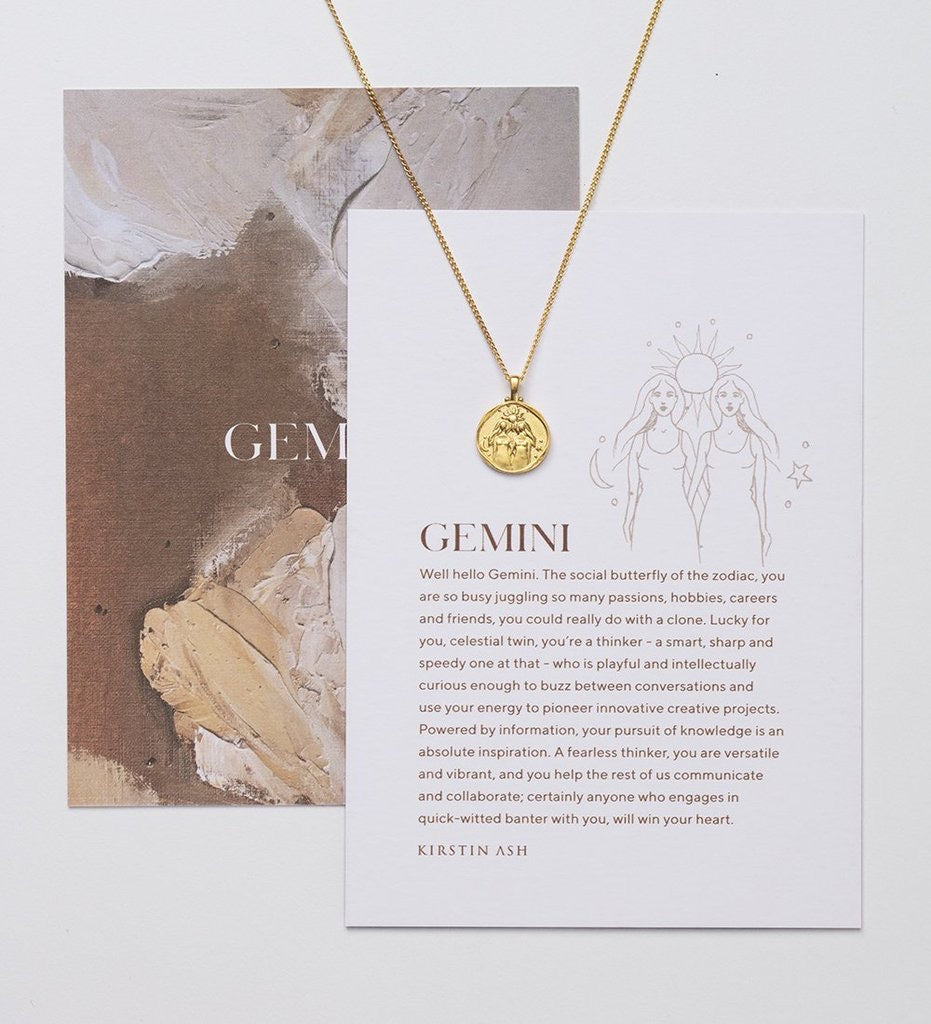 Copy Kirstin Ash Gemini Zodiac Necklace. Pre order 16/18 inch ajustable