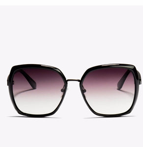 Amber  Black Smoke Sunglasses Locello