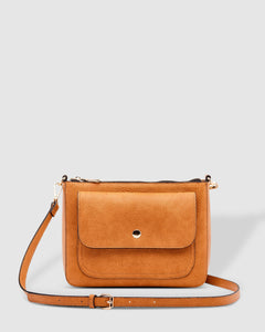 Victoria Cross Body Bag Lounhide Nutmeg