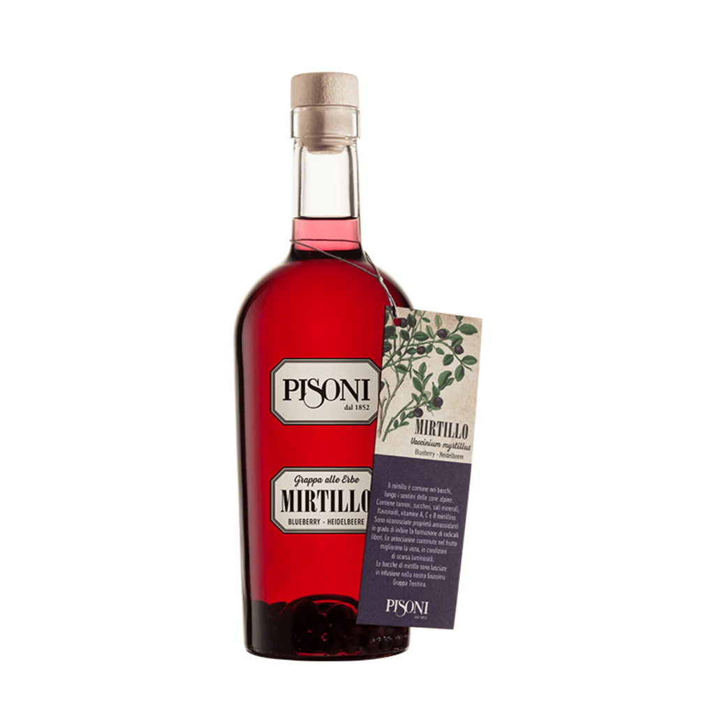 Pisoni - Grappa di Mirtillo 0,70 l