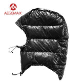 AEGISMAX Outdoor Urltra-Light Goose Down Hat For Envelope Sleeping Bag