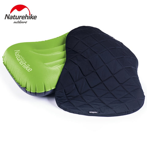 Naturehike Outdoor Inflatable Travel Pillows Cover Set